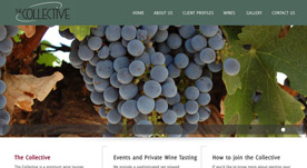 Web Design Portfolio- The Collectve Wine Bar