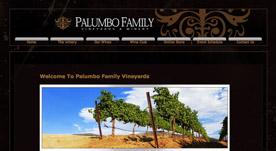 Web Design Portfolio- Palumbo Family Vineyards