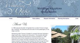 Web Design Portfolio-Whispering Oaks Terrace